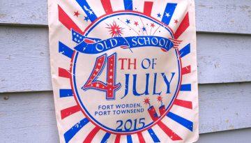 Old School 4th of July Bandana