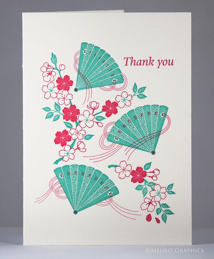 Sakura and Fans -Thank you