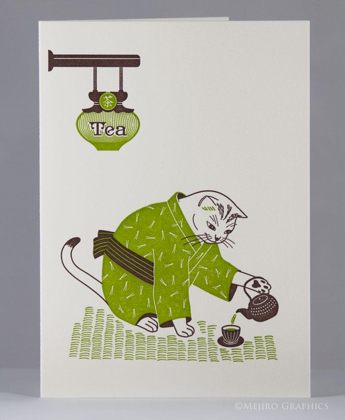 Tea Master Cat